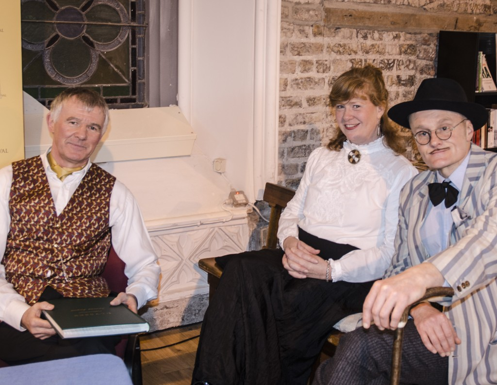 The Bloomsday Story Cast